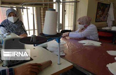 روزانه ۶ هزار ماسک استاندارد در مهران تولید می شود