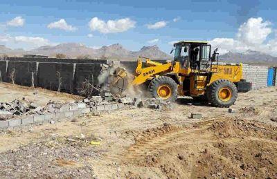 رفع تصرف چهار هزار مترمربع اراضی دولتی ایلام