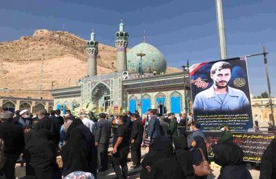 پیکر مادر سردار شهید همت در شهرضا به خاک سپرده شد