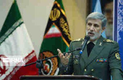 وزیردفاع و پشتیبانی نیروهای مسلح: تهدیدها و ادعاهای رژیم صهیونیستی علیه ایران از سر استیصال است