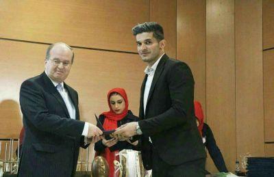 ورزشکار ایلامی بهترین بازیکن راگبی ایران شد