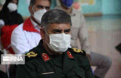 فرمانده سپاه امیرالمومنین(ع): ارائه خدمات درمانی در راستای کنگره شهدای ایلام است
