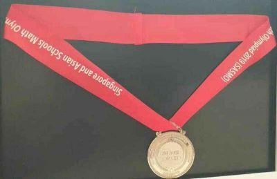 دانش آموز ایلامی مدال نقره المپیاد ریاضی مالزی را کسب کرد