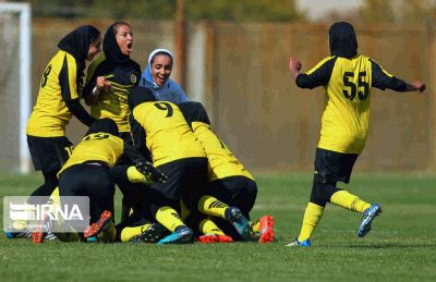 تیم فوتبال پالایش گاز بانوان ایلام میزبان خود را با هشت گل شکست داد