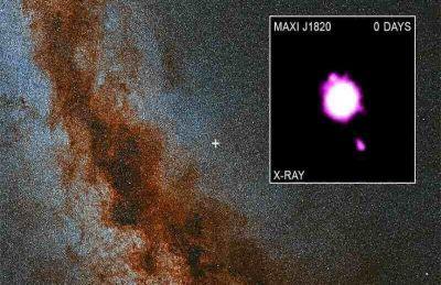سیاه چالهای که مواد داغ به فضا پرتاب میکند