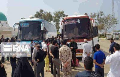 رانندگان اتوبوس خارج از پایانه برکت حق پیاده کردن زائر ندارند