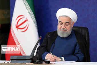 رییس جمهوری از حضور مردم در جشن سالروز پیروزی انقلاب قدردانی کرد