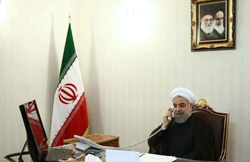 روحانی در تماس تلفنی با رییس جمهوری سوییس: سوییس نقش موثرتری در قبال اقدامات غیرقانونی آمریکا ایفا کند