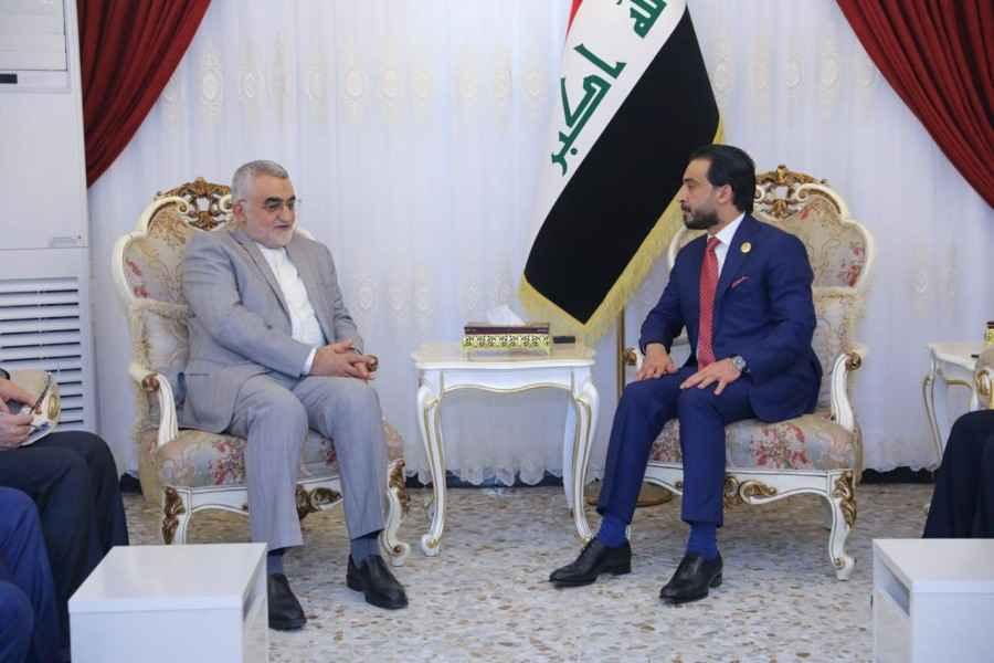 در دیدار بروجردی با الحلبوسی؛ راهکارهای تقویت روابط پارلمانی ایران و عراق بررسی شد
