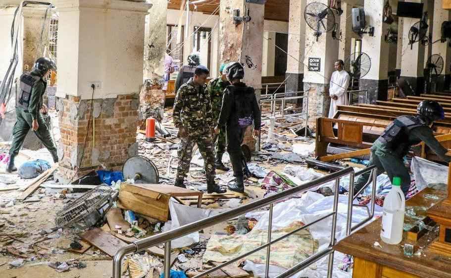 556 کشته و زخمی تازهترین آمار قربانیان انفجارهای سریلانکا