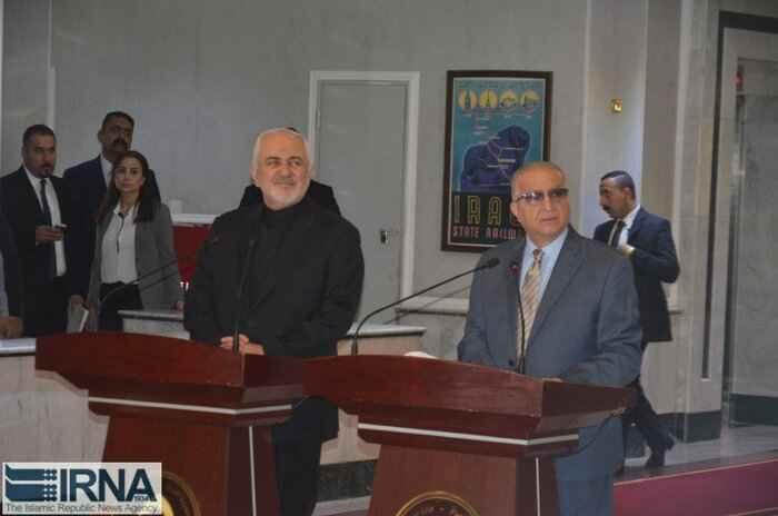 ظریف : پیشنهاد ایران برای امضای معاهده عدم تعرض با کشورهای منطقه روی میز است