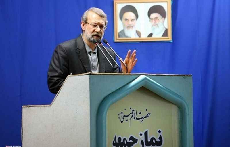 لاریجانی: راهبرد آمریکا تحقیر مسلمانان و در مضیقه قرار دادن کشورهای اسلامی است