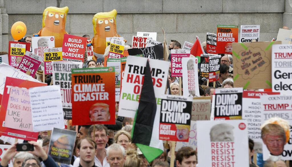 ترامپ در انگلیس و غلبه حاشیه بر متن