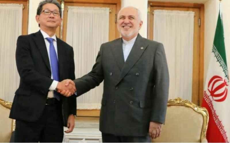 معاون وزیر خارجه ژاپن در دیدار با ظریف: توکیو برای روابط با تهران و تداوم رایزنیها اهمیت زیادی قائل است
