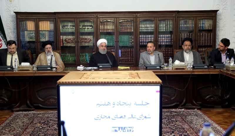 روحانی در جلسه شورای عالی فضای مجازی: فضای مجازی در اشتغال و رونق تولید ملی تاثیرگذار است