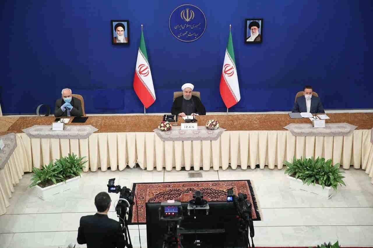 در نشست مجازی سران عضو گروه تماس جنبش عدم تعهد مطرح شد؛ روحانی: اقدامات آمریکا برنامه ایران برای مقابله کرونا را با چالش مواجه کرده است