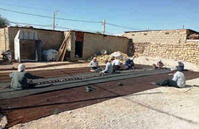 نگاهی به آیین تعمیر سالانه سیاه چادر عشایر ایلام؛ دُوار دیران میراث ماندگار نیاکان